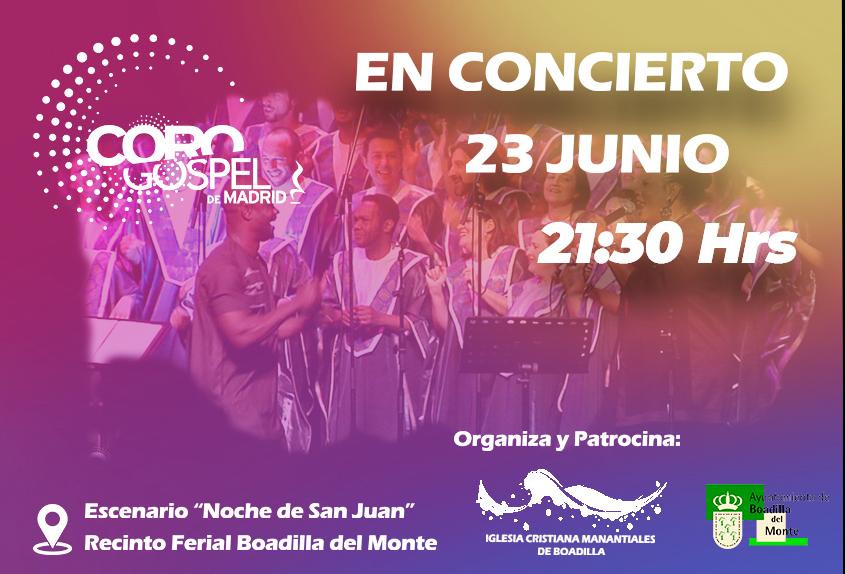 Concierto Coro Gospel Madrid