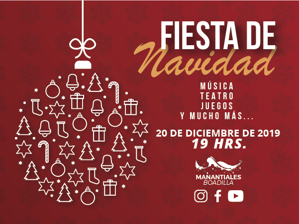 Fiesta de Navidad 2019