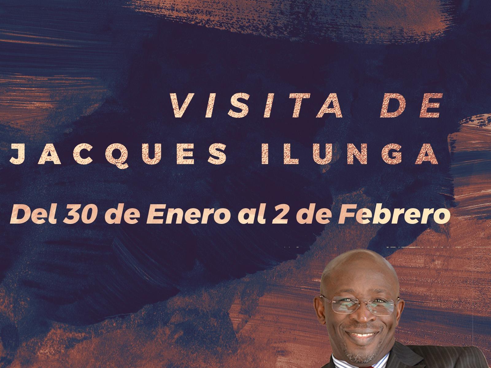 Visita Jacques Ilunga