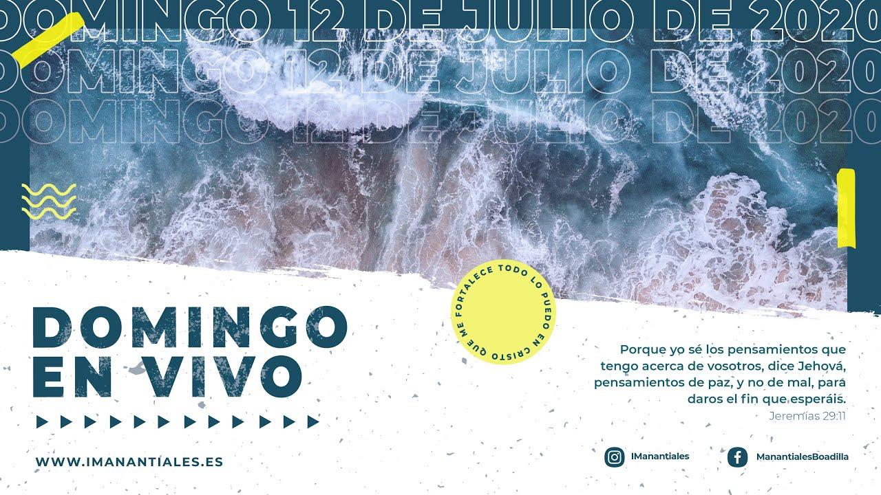 Reunión EN VIVO | Domingo 12 de Julio de 2020
