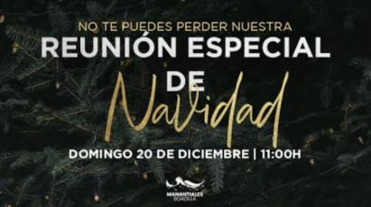 Reunión Especial de Navidad | Domingo 20 de Diciembre de 2020